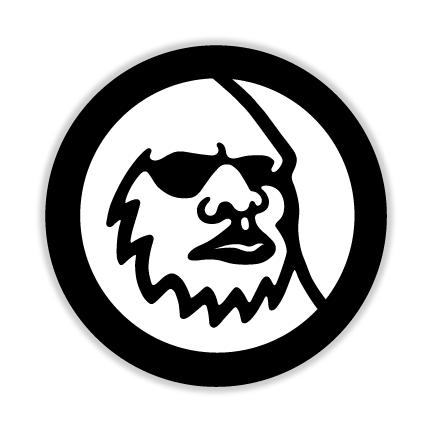 Widefoot Logo Sticker