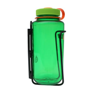 Black LiterCage with Nalgene side view