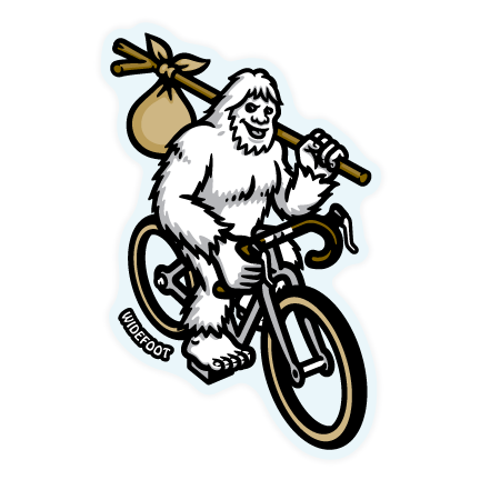 Widefoot Bigfoot / Sasquatch Bikepacking