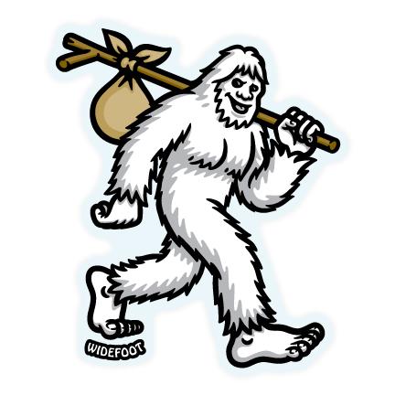 Widefoot Bigfoot / Sasquatch Hiking