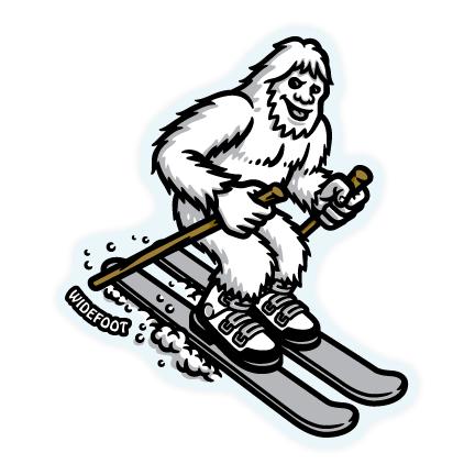 Widefoot Bigfoot / Sasquatch Skiing