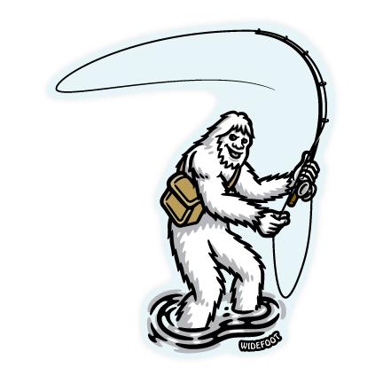Widefoot Bigfoot / Sasquatch Fly Fishing