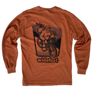 Long sleeve Bikepacking Widefoot T-shirt